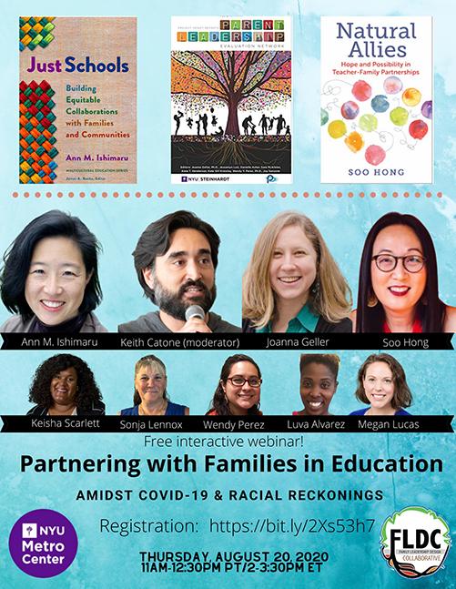 Poster of speakers at webinar