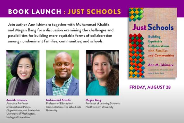 Just Schools Book Launch Image