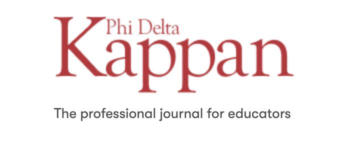 Phi Delta Kappan journal image